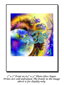 A New World is Born - Om Symbol Art