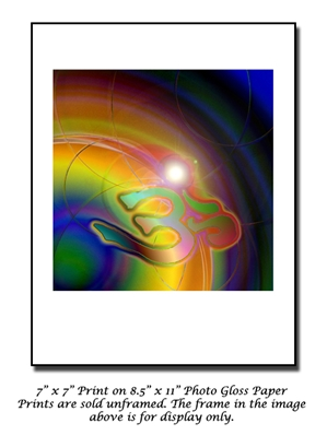 Journey Into Consciousness - Om Symbol Art