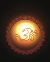 In the Darkness, My Soul is Light, Om Symbol Sacred Space Art Om Symbol art, Om Art, Om, Aum Symbol art, Aum art, Aum, India, Sacred Symbol, sacred om, sacred aum